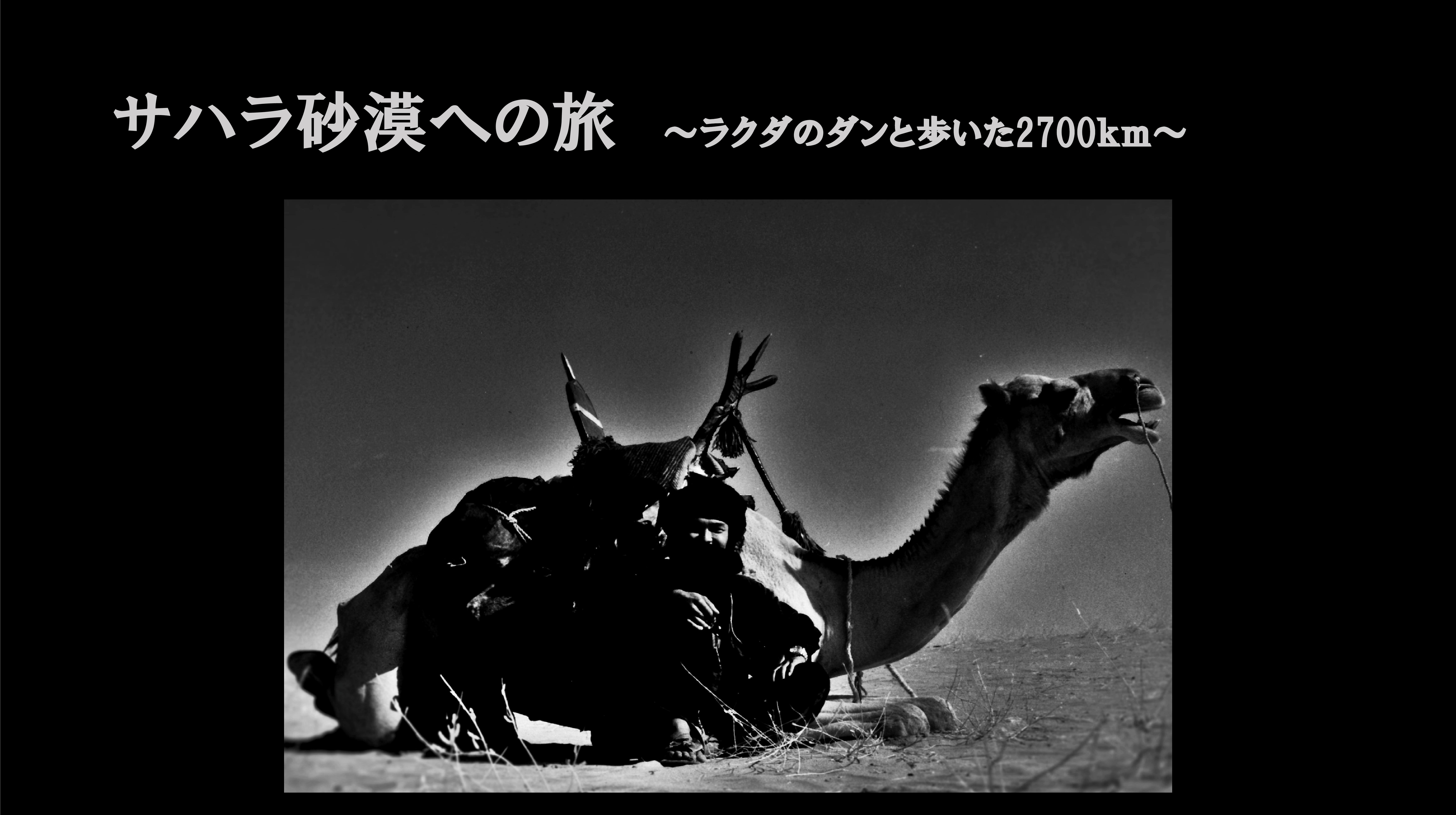 Microsoft PowerPoint - サハラ砂漠への旅